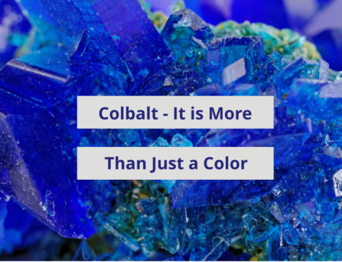 Cobalt is More Than a Color